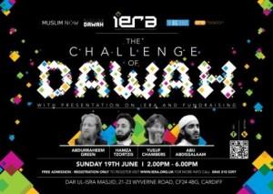 Sprekers van dawah-organisatie iERA