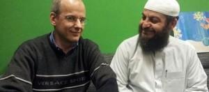 Arnoud van Doorn (links) en Haitham al-Haddad