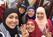 NIDA dames tijdens Gaza-boottocht van Nederlandse Moslimbroeders